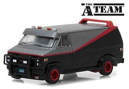 Green Light 1:64 1983 GMC VANDURA THE A TEAM alloy toy car toys for children diecast model car Birthday gift