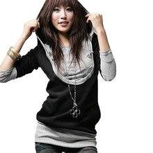 ZANZEA 2019 Fashion Korean Style Women Hoodies Sweatshirt Casual Long Sleeve Hooded Tops Tracksuit Plus Size