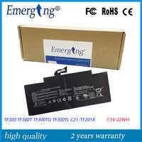 7.5V 22WH oryginalny Tablet bateria do asus TF300 TF300T TF300TG TF300TL C21-TF201X