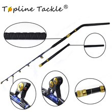 купить BlueSpear 130lbs Trolling Rod 6'6 Good Service Fishing Big Game Trolling Rod дешево