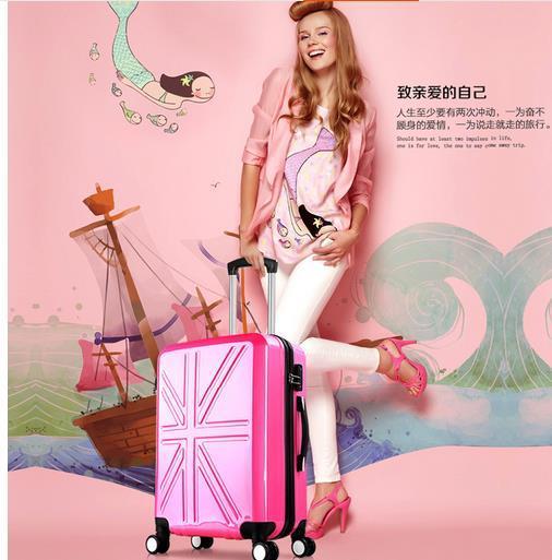 Дешевые тележка чемодан организатор 20 дюйм(ов) abs прокатки багаж reiskoffer чемодан