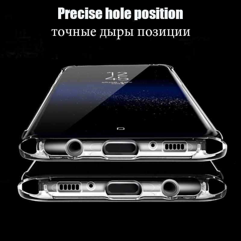 Мягкий чехол для samsung Galaxy S10 S9 S8 A8 плюс S3 S4 S5 S6 S7 край прозрачные чехлы из ТПУ для samsung Note 9 8 S10 Lite A9 A9 звезда A9S