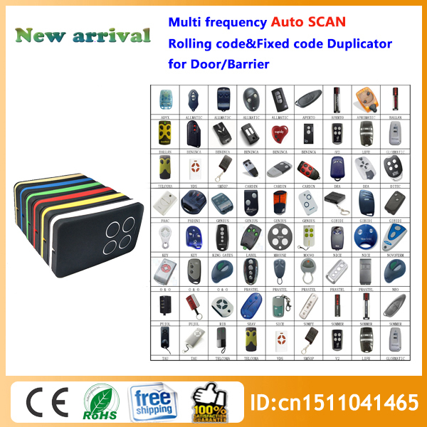 Nesest Multi frequency copy 280 868mhz auto scan frequency Universal remote control duplicator