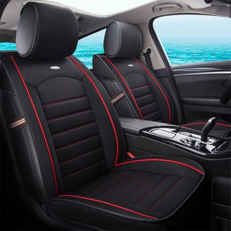 Housse de siège de voiture couvre coussin de protection automatique pour mercedes benz classe S w140 w221 classe C W202 T202 W203 T203 W204 W205 c200