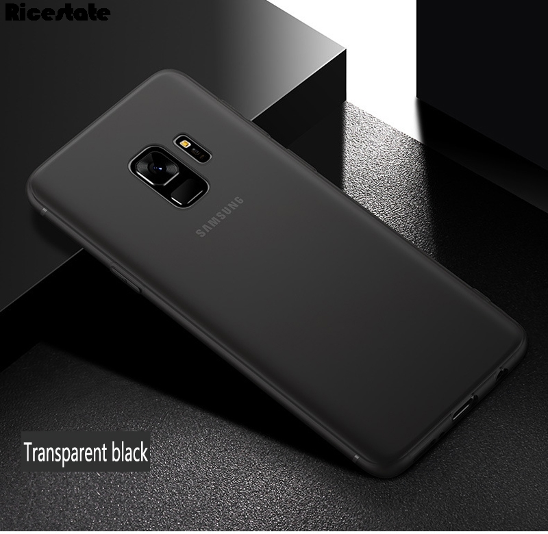 For Samsung Galaxy S9 S9 Plus 0.3mm Ultra Thin Matte Plastic Back Cover Case for Samsung S9 Plus Fashion Case(China)