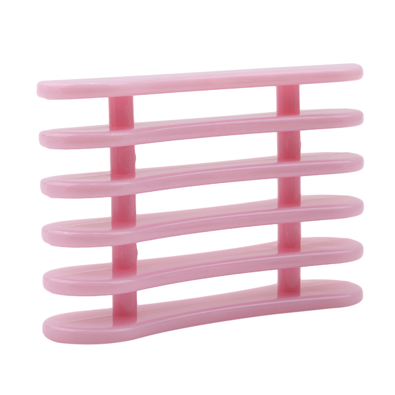 1PC Nail Tools Rose Pink Tray More Colors Choice Brushes Pen Holder Stand For 5PCS Makeup Nail Art Brush Pens Tools