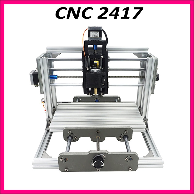 CNC 2417+500mw laser grbl control diy cnc engraving machine,mini Pcb Pvc Milling Machine,Metal Wood Carving machine,CNC2417 cnc 2418 with er11 cnc engraving machine pcb milling machine wood carving machine mini cnc router cnc2418 best advanced toys