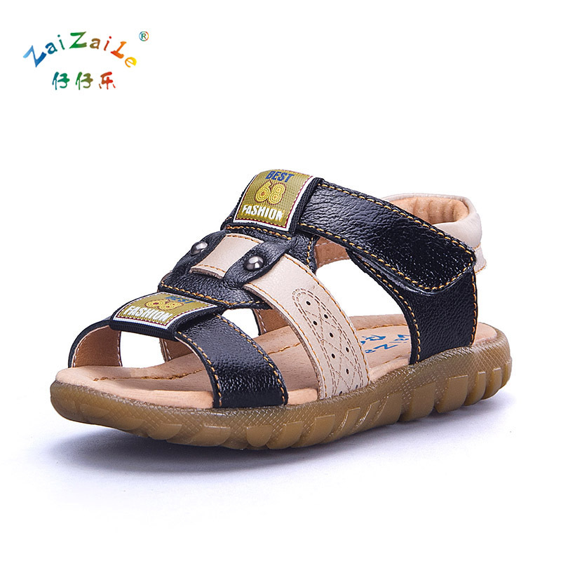 Kids Sandals Breathable Children Shoes High Qiality Genuine Leather Boys Sandals Fashion Kids Sandals For Girls KS68