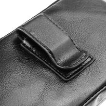 Zipper Man 100% Genuine Cow Leather Mobile Phone Belt Clip Case For LG X venture,Cubot Note S/S550/S550 Pro/Dinosaur