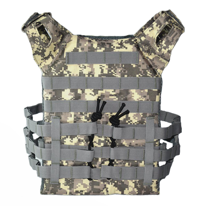 9 Colors Tactical Molle Carrier Vest Hunting Airsoft Outdoor Paintball Sport Body Armor Vest J P C Simple Vest Military Vest in Hunting Vests from Sports Entertainment