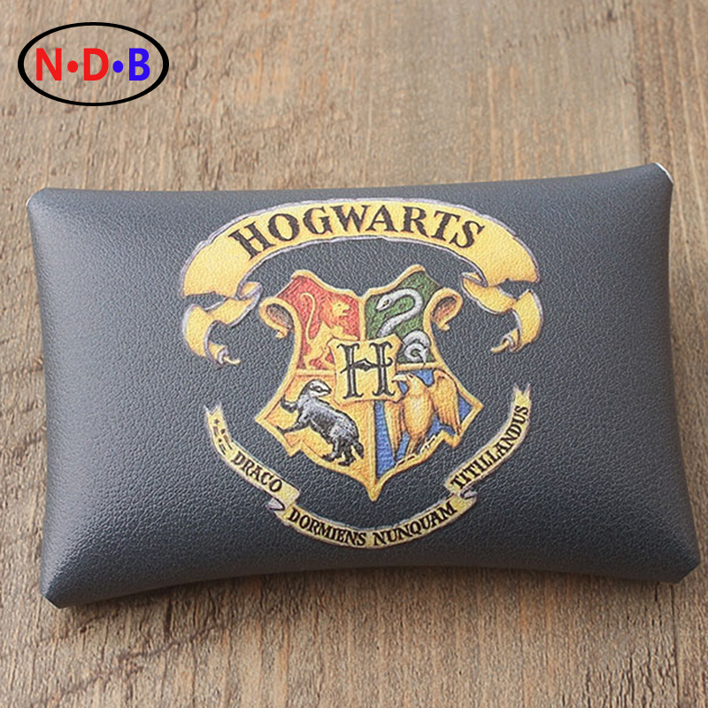 (Coin Purses) Classic Harry Potter Hogwarts badge purse personality change hand bag mail original package LQB1004