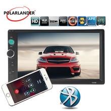 Car Stereo Bluetooth Radio HD Specchio Link Touch Screen Vivavoce TF/USB/AUX MP5 radio cassette player Testa unità Autoradio