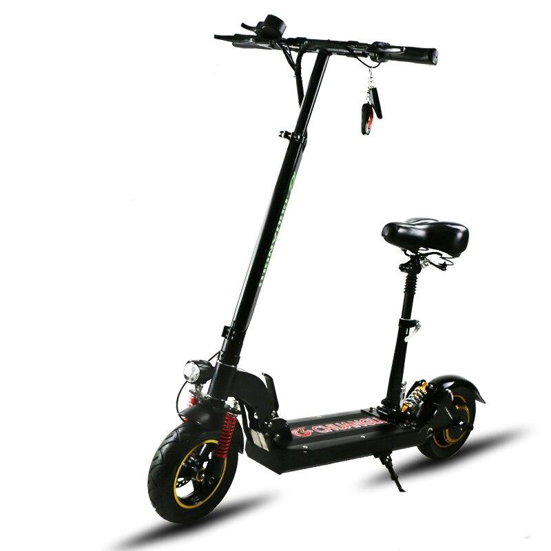 2017 Kwheel H8 800 W moteur puissant scooter électrique 10 pouces e-scooter