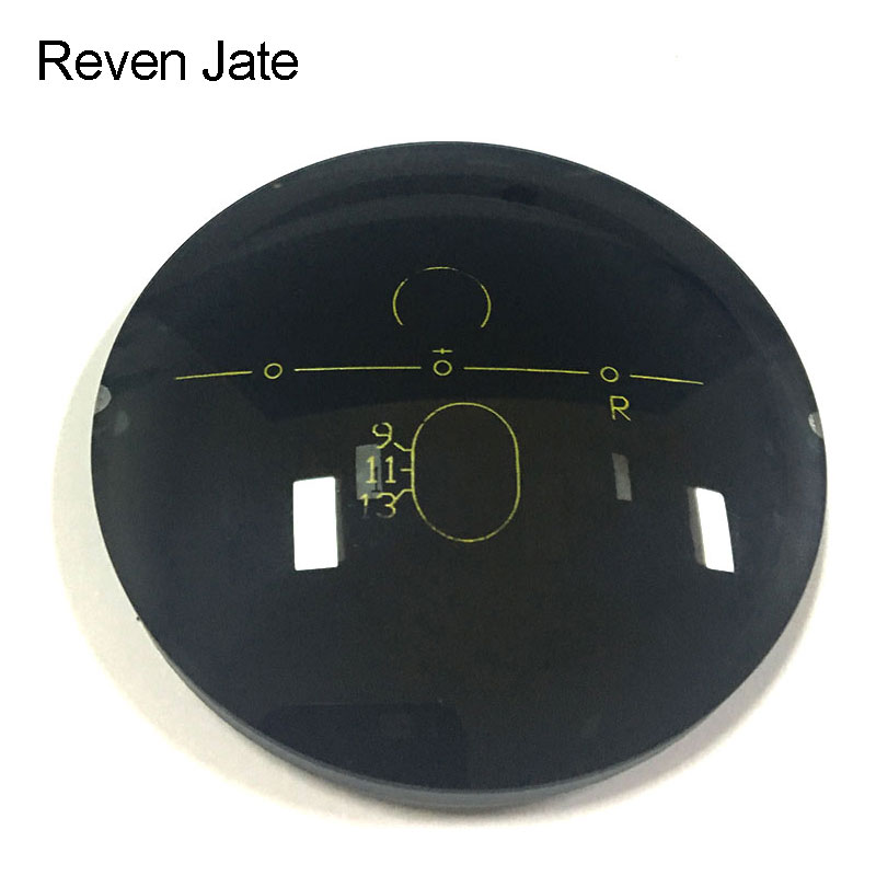 Reven Jate Digital Free Form Progressive Polarized Lenses 2 Color Choices Brown or Gray 3 Lenses