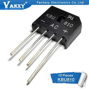 Image 2 - 10 adet KBU810 KBU 810 8A 1000V diyot köprüsü doğrultucu yeni ve orijinal IC