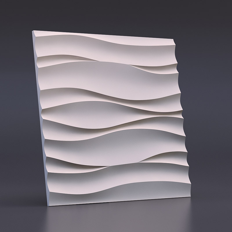 """Пластик формы для пластырь 3D Декоративное Настенное панно """"волна Атлантик"""" Новый Дизайн 2017 год"""