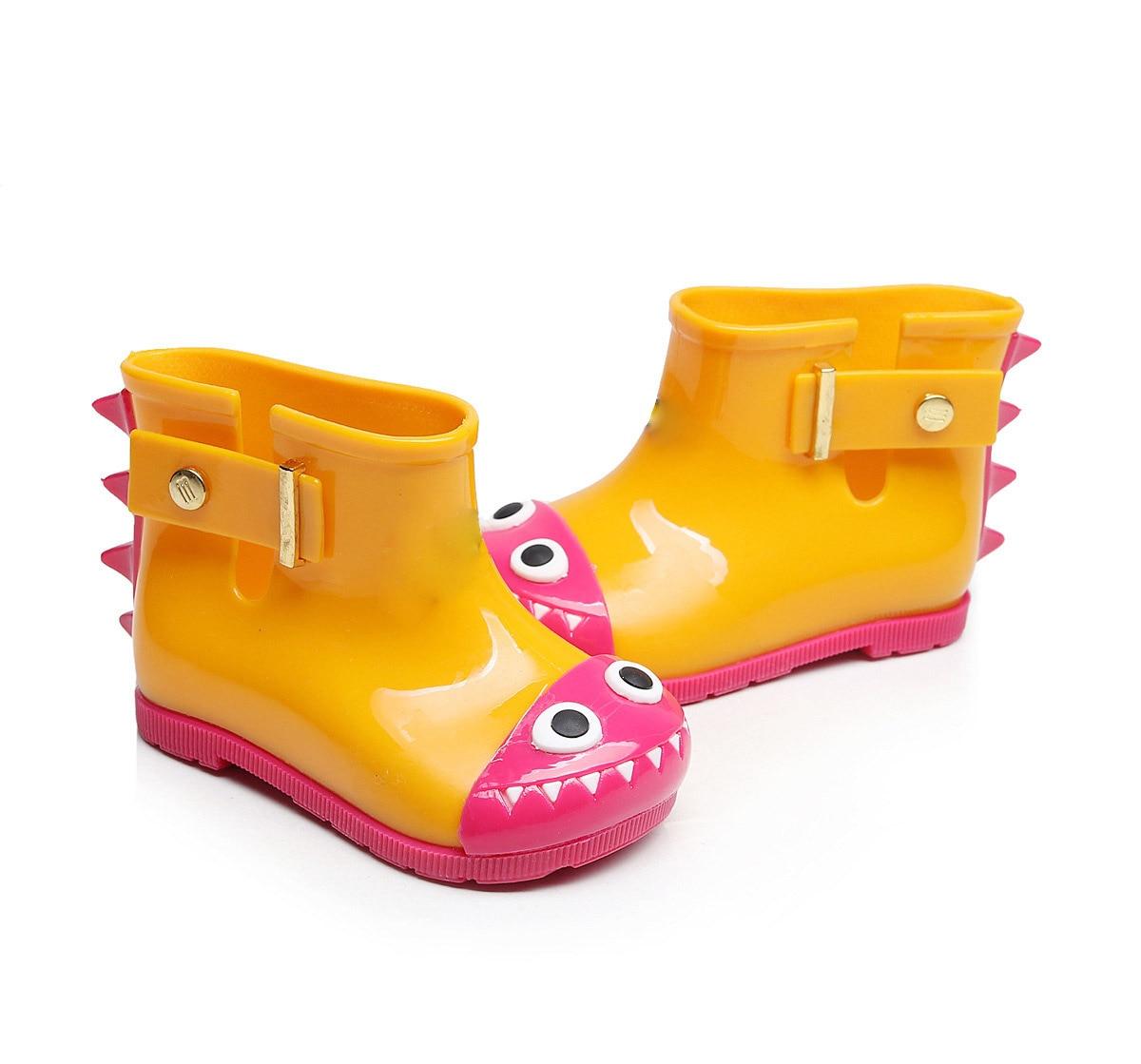 Mini Dinosaur Waterproof Baby Shark Jelly Miękkie buty Baby Rain - Obuwie dziecięce - Zdjęcie 3