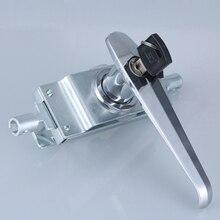 free shipping Connecting rod lock distribution cabinet door switchgear door knob pull lock industrial box lock Control handle