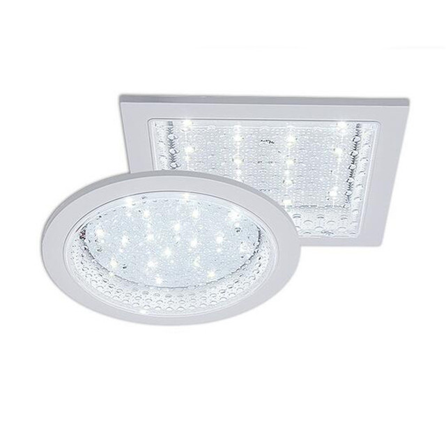 Modern Waterproof Bright Square Round Embeded Led Ceiling Light For Kitchen Bathroom Balcony 10