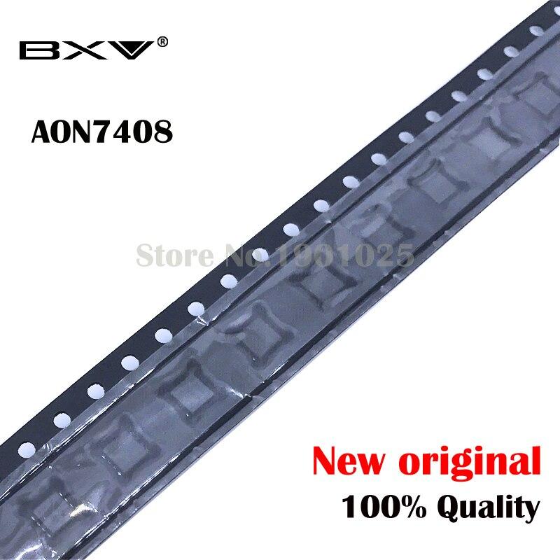 10pcs AON7408 AO7408 7408  MOSFET  QFN-8 New Original