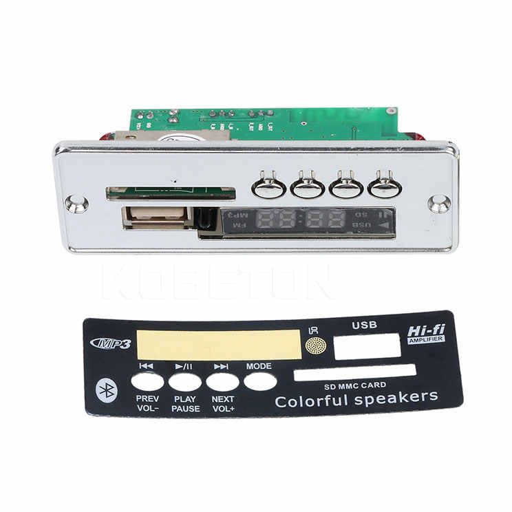 2.1 Bluetooth Auto Decoder Brett MP3 Player Decodierung Modul mit USB Zusat E6S6
