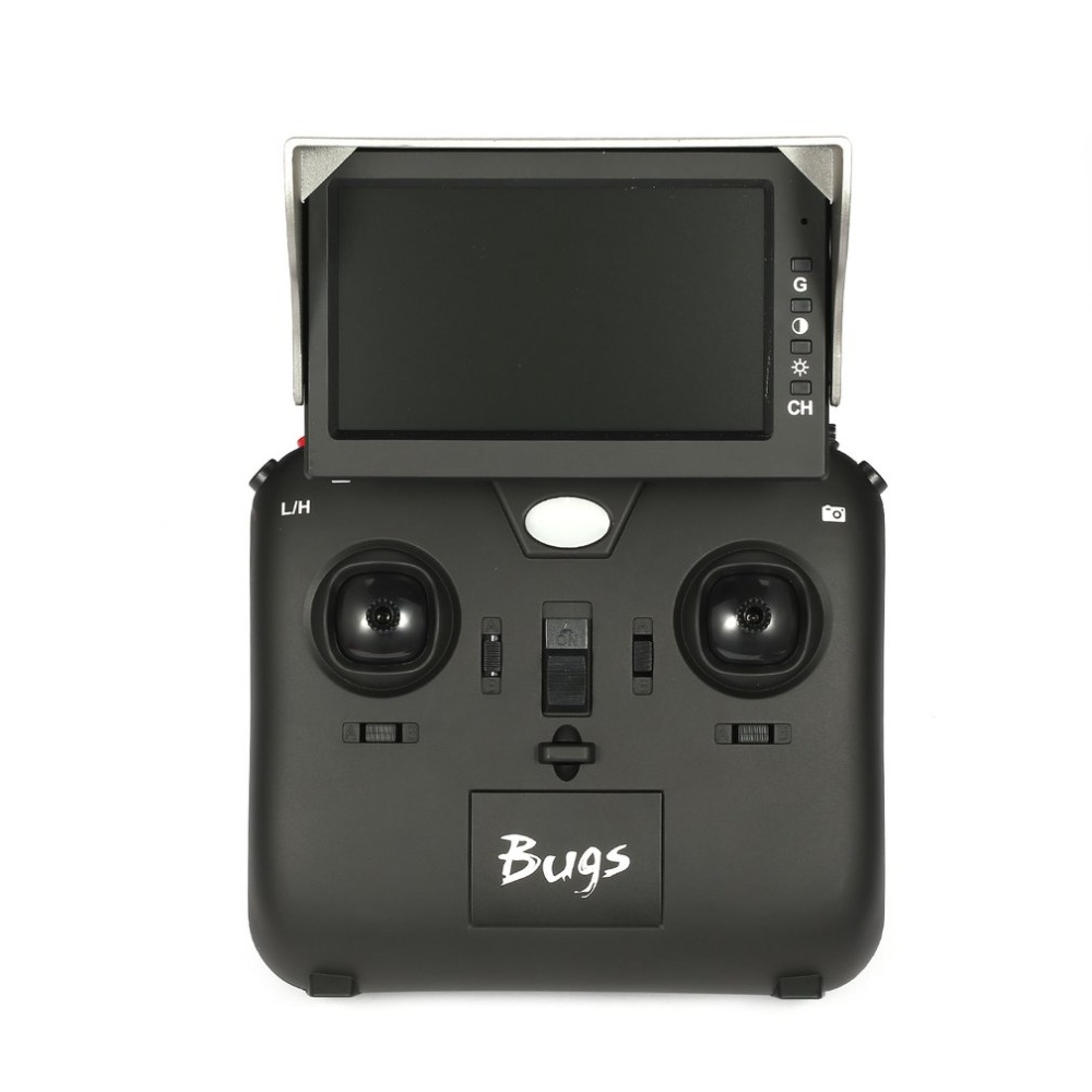 MJX D43 5.8G 4.3in 32CH FPV Receiver Monitor Display Screen for X220 QAV250 C5830 5.8G FPV Drone Quadcopter