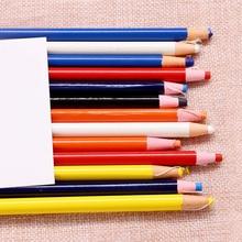 10 цветов модные 1 шт. Швейные портновские Меловые карандаши ручка по ткани маркер мел для шитья одежды карандаш для портновского шитья аксессуары