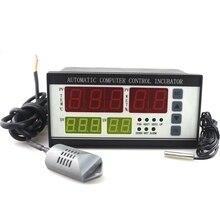 AC 220 В XM-18 Термостат Регулятор Инкубатор Контроллер Температуры И Влажности для Промышленной Автоматики с двумя Датчика