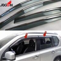 For Nissan X Trail T31 2008 2009 2010 2011 2012 2013 Window Sun Rain Visors Vent