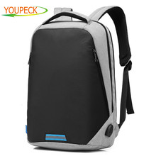 Brand Anti thief Laptop bag 15 6 15 inch Laptop Travel Backpack USB Charging Computer Backpack