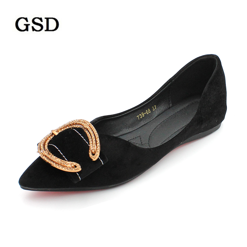 Shoes Woman 2019   Suede     Leather   Women's Flat Shoes Casual Loafers Slip On Women Shoes Flats Soft Moccasins Lady Driving Shoes
