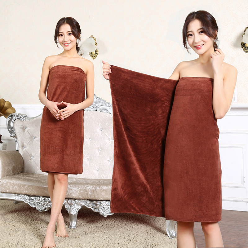 Microfiber Women Sexy Bath Towel Wearable Beach Towel Soft Beach Wrap Skirt Super Absorbent Bath Gown Quick Dry Towel