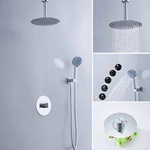 Free shipping becola concealed shower faucet kit wall mounted set high quality system B-F1008