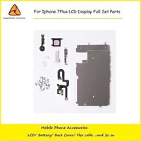 10PCS Lot For Iphone 7Plus LCD Digitizer Full Set Small Repair Part Metal ShieldPlate Front Camera