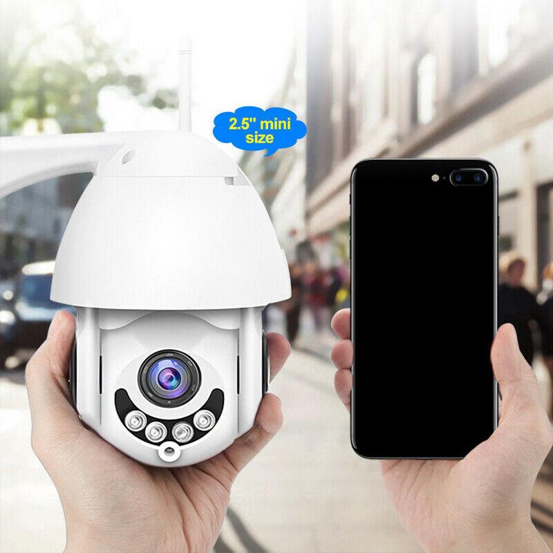 HD 1080P Cloud Storage Wireless PTZ IP Camera Speed Dome CCTV Security Cameras Outdoor ONVIF Two Way Audio P2P Camera WIFI