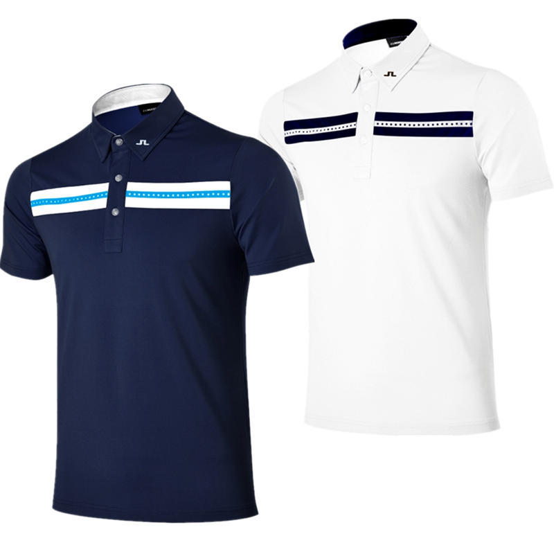 New hot men golf clothes 4colors jl short sleeve golf t for Sweaty t shirts and human mate choice