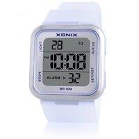 XONIX Brand Jelly Watch Fashion Minimalist Matte Precise Girls Wild Girl Student Waterproof LED Electronic Watches
