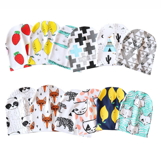 Cute Matching Beanie Hats and Scarves for Babies and Infants