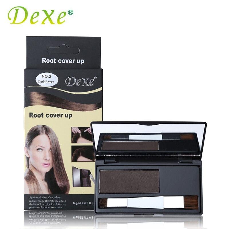 1 Pc Haar Färbung Produkte Kreide Abdeckung Grau Haar Wurzel Abdeckung Up Pulver Schwarz Haar Farbe Pinsel Dye Temporäre Farbe Ungiftig