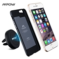 Mpow MCM8B Magic Air Vent Rotation Mounting Magnetic Car Holder with Metal Plate for iPhone 6 Case and 2 Adhesive Metal Plates