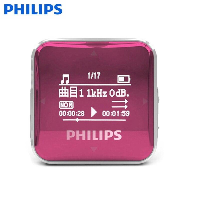 Philips Новый 8 ГБ ультра мини-ясно Запись Аудио Голос Регистраторы время записи MP3-плееры WMA MP3 ape flac OGG формат диск usb