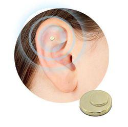 2 ADET Sigara Mıknatıs Auricular Akupunktur Yama Değil Sigara Sağlık Tedavisi Sigara Anti Duman Yama Sağlık