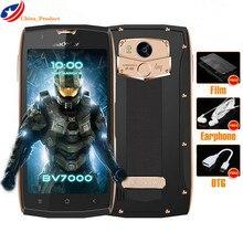 Blackview BV7000 Mobile Téléphone 5.0 pouce FHD MTK6737T Quad Core Android 7.0 2 GB RAM 16 GB ROM 8MP Étanche IP68 NFC 4G Téléphone Portable