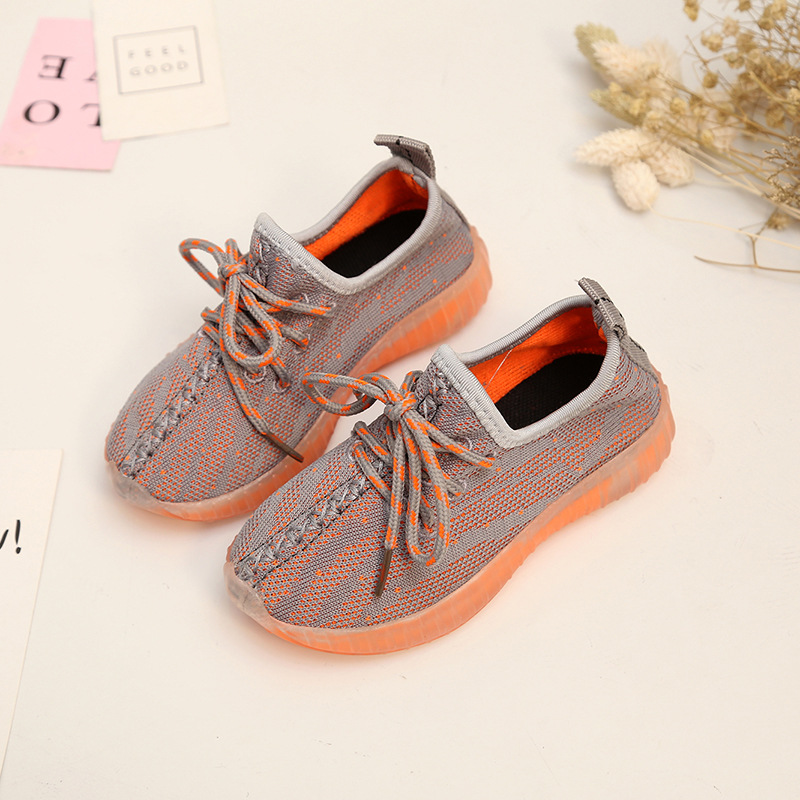 New Spring Summer Childrens Boys and Girls Breathable Lightweight Sports Fashion Shoes