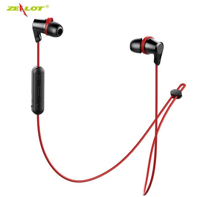 NEW ZEALOT H11 Bluetooth Earphone Headphones Handsfree Waterproof Wireless Headphones Running Sport Headset with Mic for Phones
