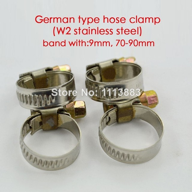 german tube clips
