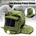Protector de protección contra chorro de arena