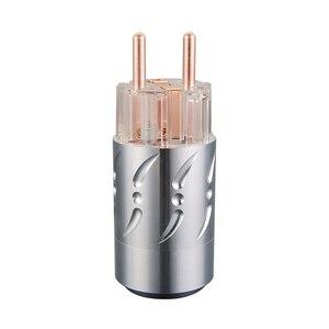 Image 2 - Prise dalimentation ue Viborg VE512 + VF512 99.998% cuivre sans connecteur de coque en alliage daluminium plaqué