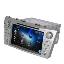 Free Shipping 8 inch Car DVD Player GPS Navigation System For Toyota Camry 2007 2008 2009 2010 2011 BT Steering wheel control