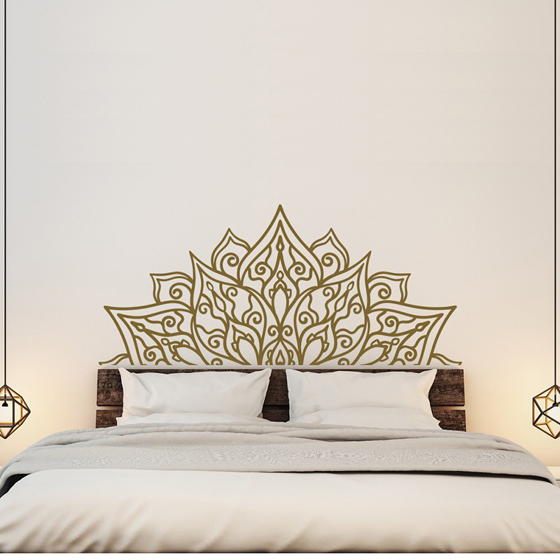 New Bedroom Headboard Wall Decal Bedroom Decor Headboard